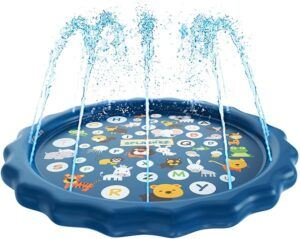 SplashEZ 3-in-1 Splash Pad Sprinkler for Kids