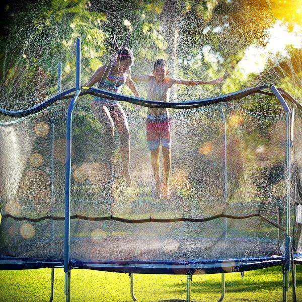 Trampoline Sprinkler Trampoline Waterpark