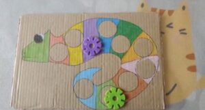 Chameleon Color-matching Puzzle