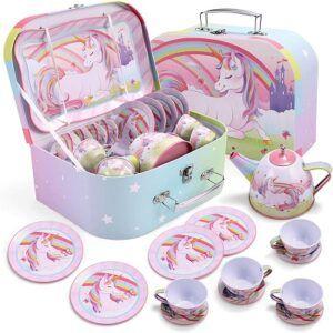 unicorn tea party set